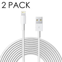 Deals on 2-Pack 8 Pin to USB 6 Ft Cable for iPhone 5/6/7/8 & iPads