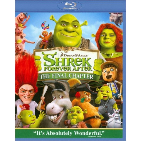 Shrek Forever After Blu-Ray 3D (or 2D Standard Def)