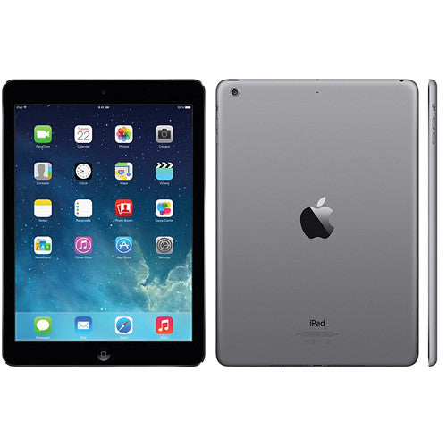 Apple iPad Air 9.7-Inch 32 GB Touchscreen Tablet in Black/Space Gray MD786LLA