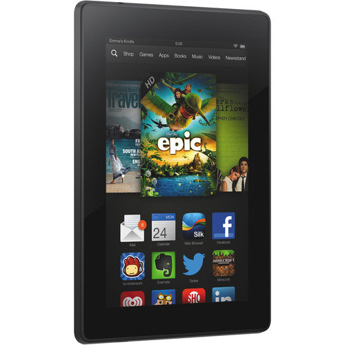 "Amazon Fire Tablet w/Alexa 7"" HD Display, Dolby Audio, Dual-Band Wi-Fi, 16GB or 32GB in Black"