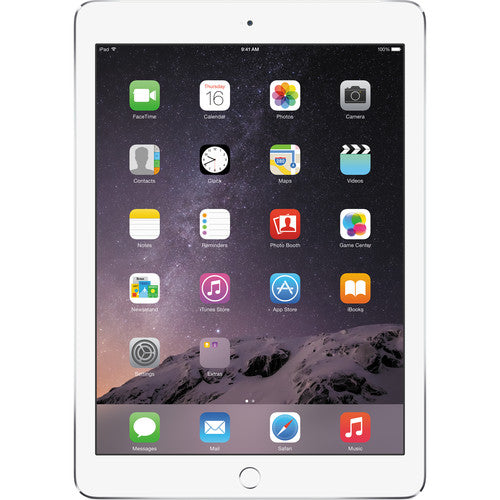 Apple iPad Air 2 128GB Wi-Fi + 4G LTE in Silver MH322LL/A