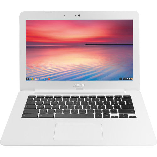"ASUS Chromebook C300MA 13.3"" Intel Celeron 2GB 16GB SSD Red"