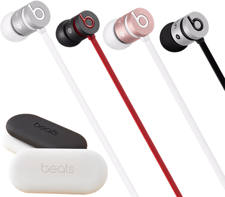 Beats urBeats In-Ear Headphones in 3 Colors