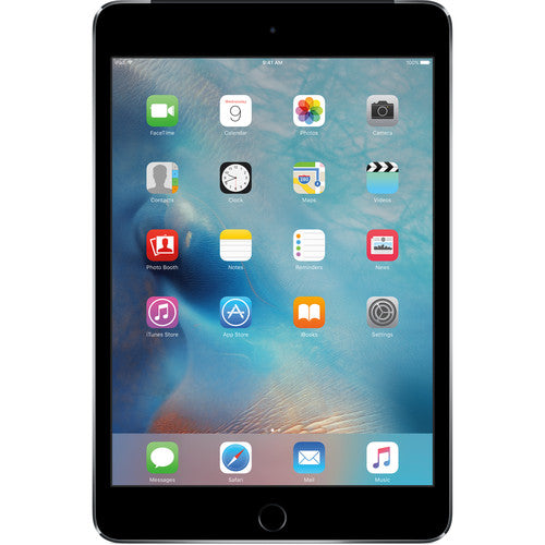 Apple iPad mini 4 Cellular with Wi-Fi 128GB MK8D2LL/A in Space Gray