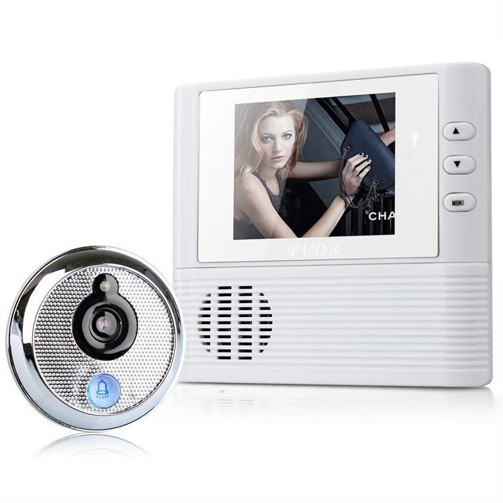 Wireless Video Doorbell with a 2.8 inch LCD screen