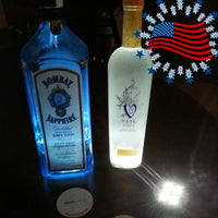 3 PACK of Cool (Liquor) Bottle LED Accent Lights - Illuminate Any Bottle!