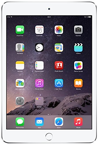 Apple iPad mini 3 MGGT2LL 7.9-inches 64GB Tablet in Silver