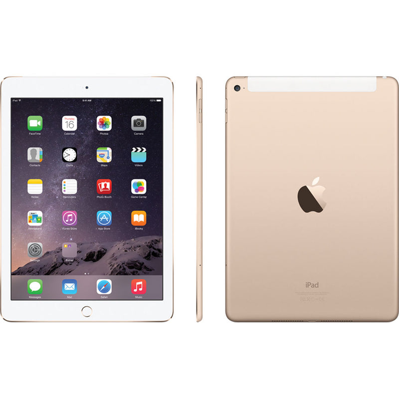 Apple iPad Air 2 9.7 Inch Retina Display 16GB with Wi-Fi in Gold MNV72LL/A