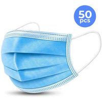 50 Pack Disposable Face Masks