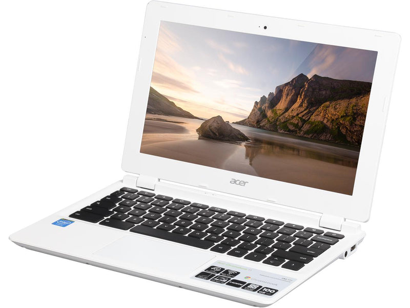 "Acer Chromebook 11 CB3-111-C4HT Intel Celeron N2840 2.16 GHz 2GB 16GB  11.6"" Chrome OS"