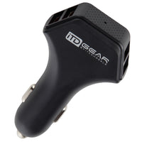 iTD Gear 4-Port FAST USB Car Charger (50W)