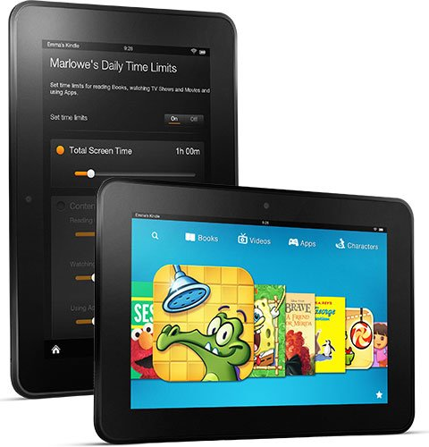 "Amazon Kindle Fire Tablet HD 8.9"" with Alexa HD 8.9"" Display, Dual-Band Wi-Fi, 32 GB in Black"