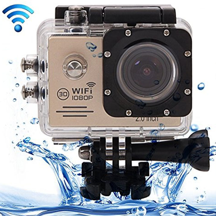 Full HD SJ7000 Waterproof Sports Action Camera (Full HD 1080P 12MP)