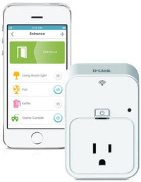 D-Link DSP-W215 Smart Plug Works with Alexa and Google Assistant