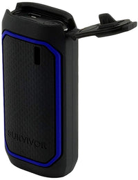 Griffin Technology Survivor 6,000 mAh Power Bank in Black/Blue