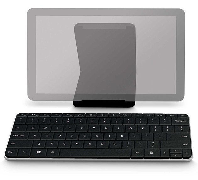 Microsoft Wedge Mobile Wireless Tablet Keyboard in Black