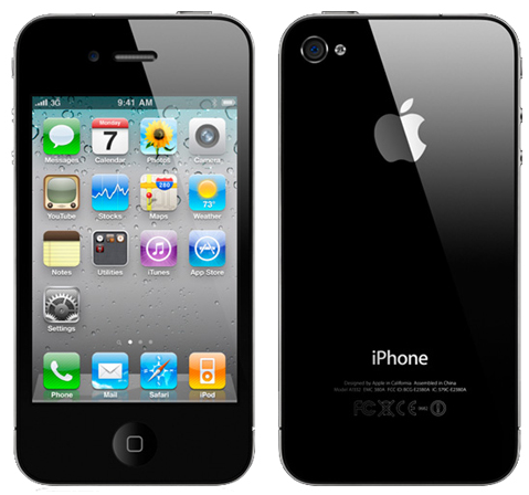 "Apple iPhone 4 16GB - 3.5"" Touchscreen Dual Camera Smartphone for Verizon in Black"