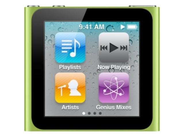 "iPod Nano 6th Gen 1.54"" Multi Touch Display 8GB in Assorted Colors"