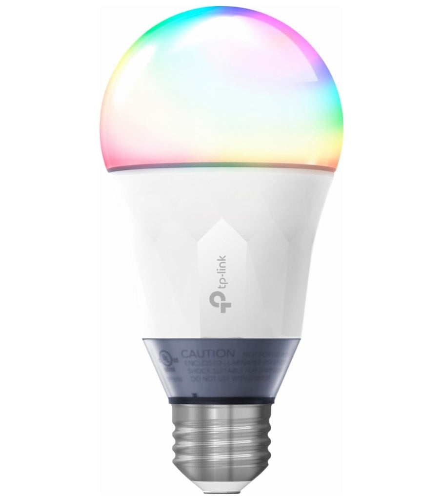 TP-Link Multicolored 800 Lumen (60 Watt)  Wi-Fi Smart LED Bulb LB130 w/Voice Assistants