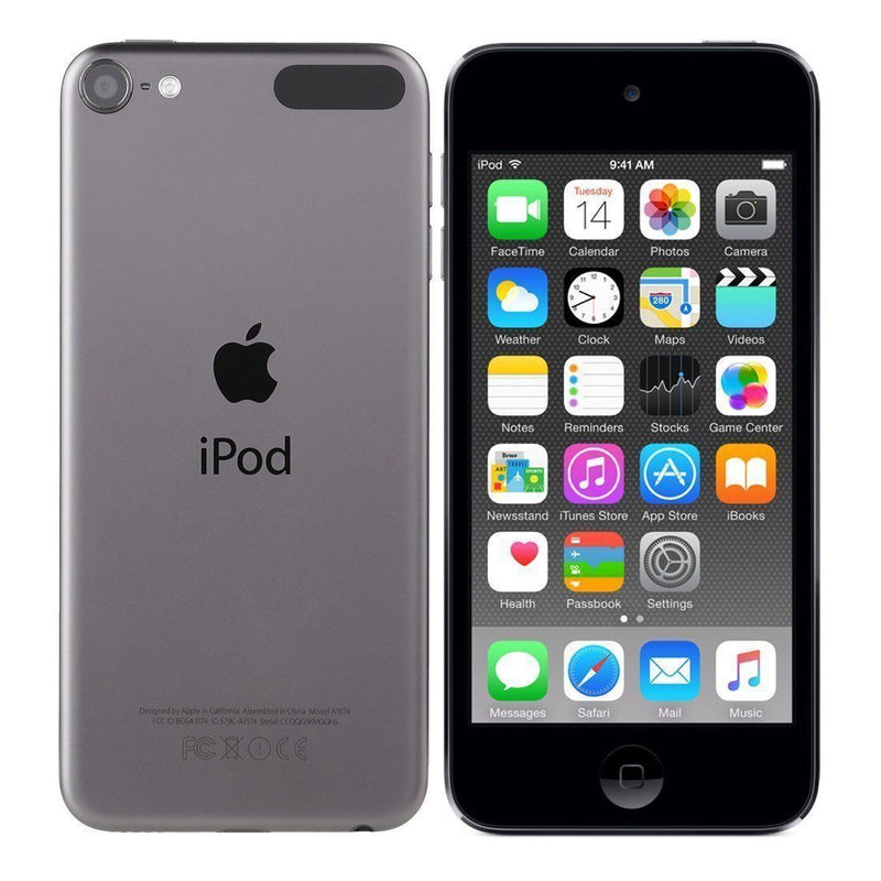 Apple iPod touch 6th Generation 16GB MP3 Player MKH62LL/A in Space Gray