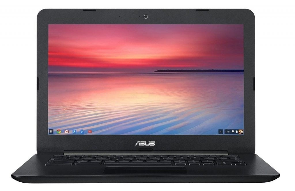 ASUS Chromebook C300MA 13.3 Inch Intel Celeron, 4 GB, 16GB SSD, Black