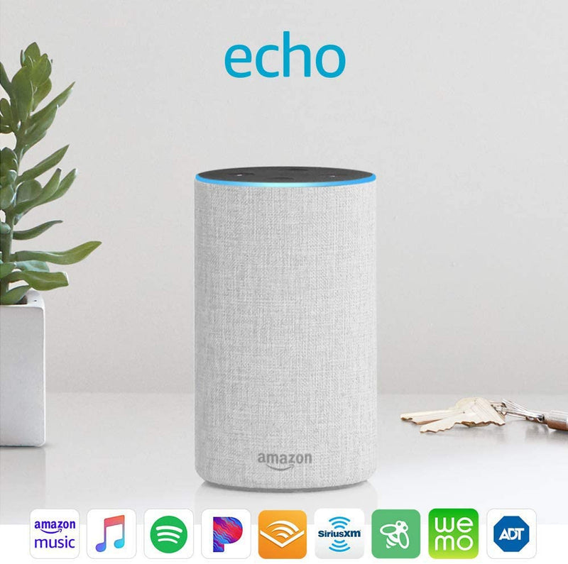 Amazon Echo Voice-Controlled Intelligent Personal Assistant & Digital Media Streamer (2nd Generation)