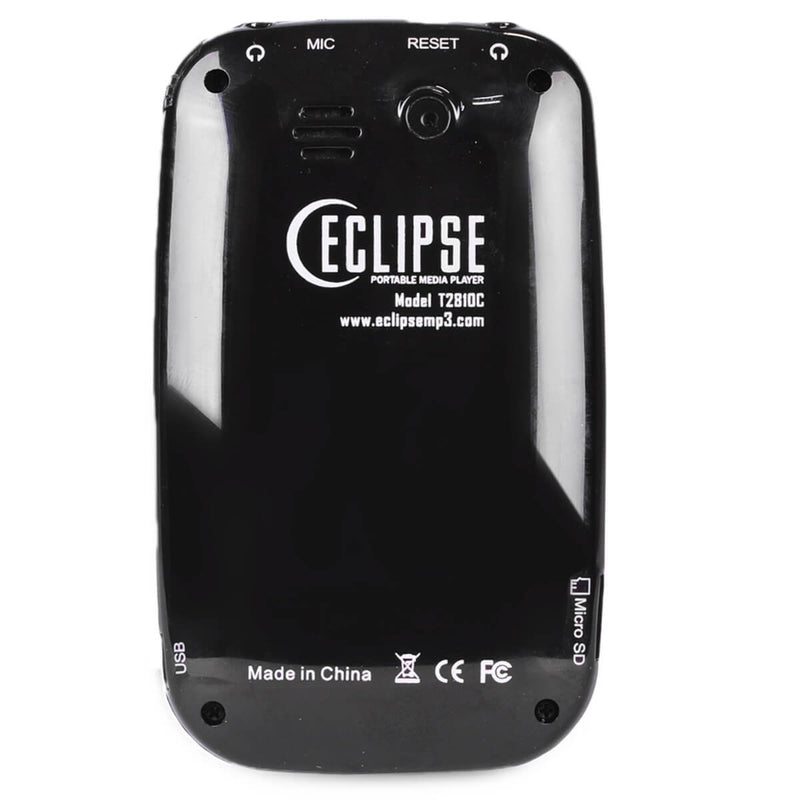 "Eclipse T2810C 2.8"" LCD 4GB Digital Music Video MP3 Player and Voice Recorder"