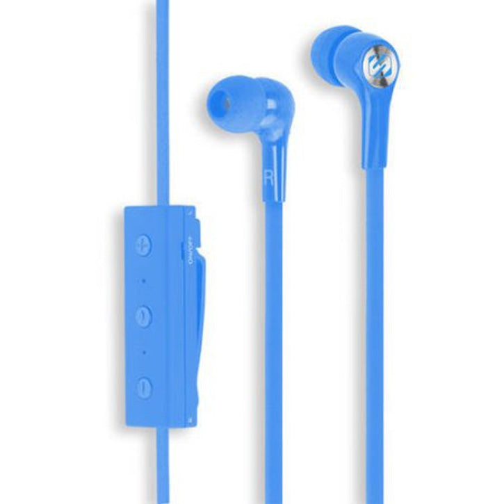 Scosche Bluetooth Earbuds with Mic in Blue