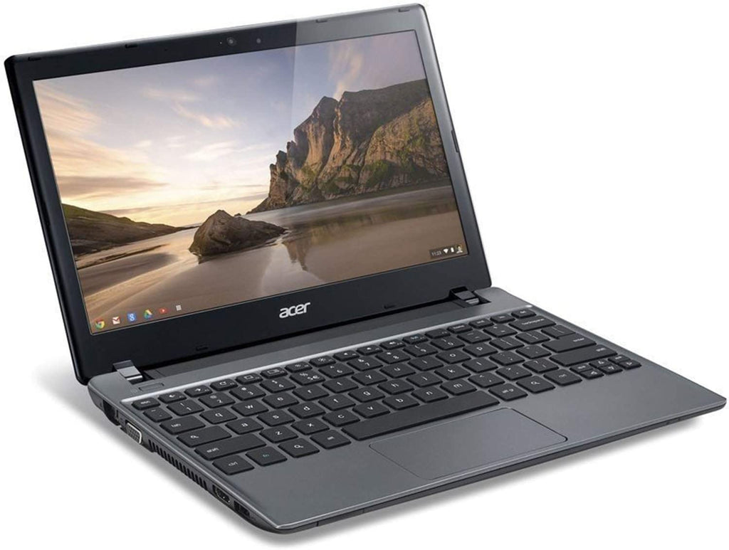 "Acer C7 C710-2847 Chromebook 11.6"" Intel Dual Core 1.1 GHz 2GB RAM Chrome OS in Gray"