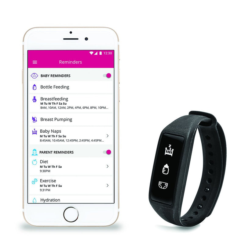 Project Nursery Parent & Baby Smartband Monitor