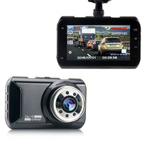 "160° Wide Angle DashCam Full HD 1080p, WDR & Night Vision With 3"" LCD"