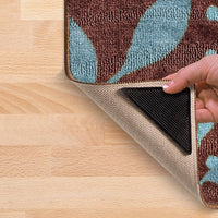 8-Pack Rug Grippers Keep Rugs and Mats Securely In Place with Tacky Grip Polymer Technology