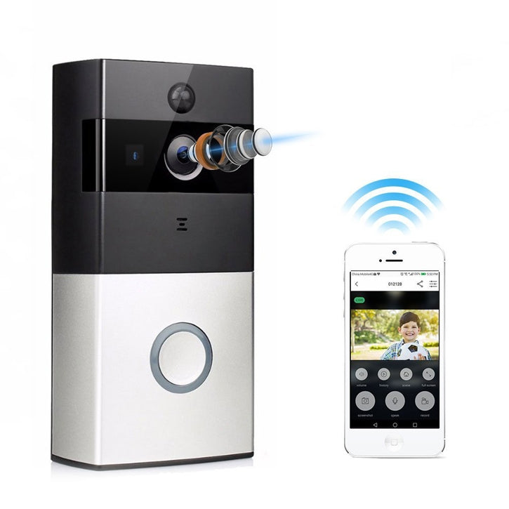 iTD Gear WiFi Smart Home Video Doorbell Security Camera w/Two Way Audio