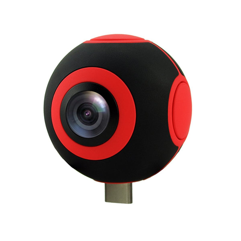 Pano Live 360° Panoramic Video Recorder for Android With Dual Cameras