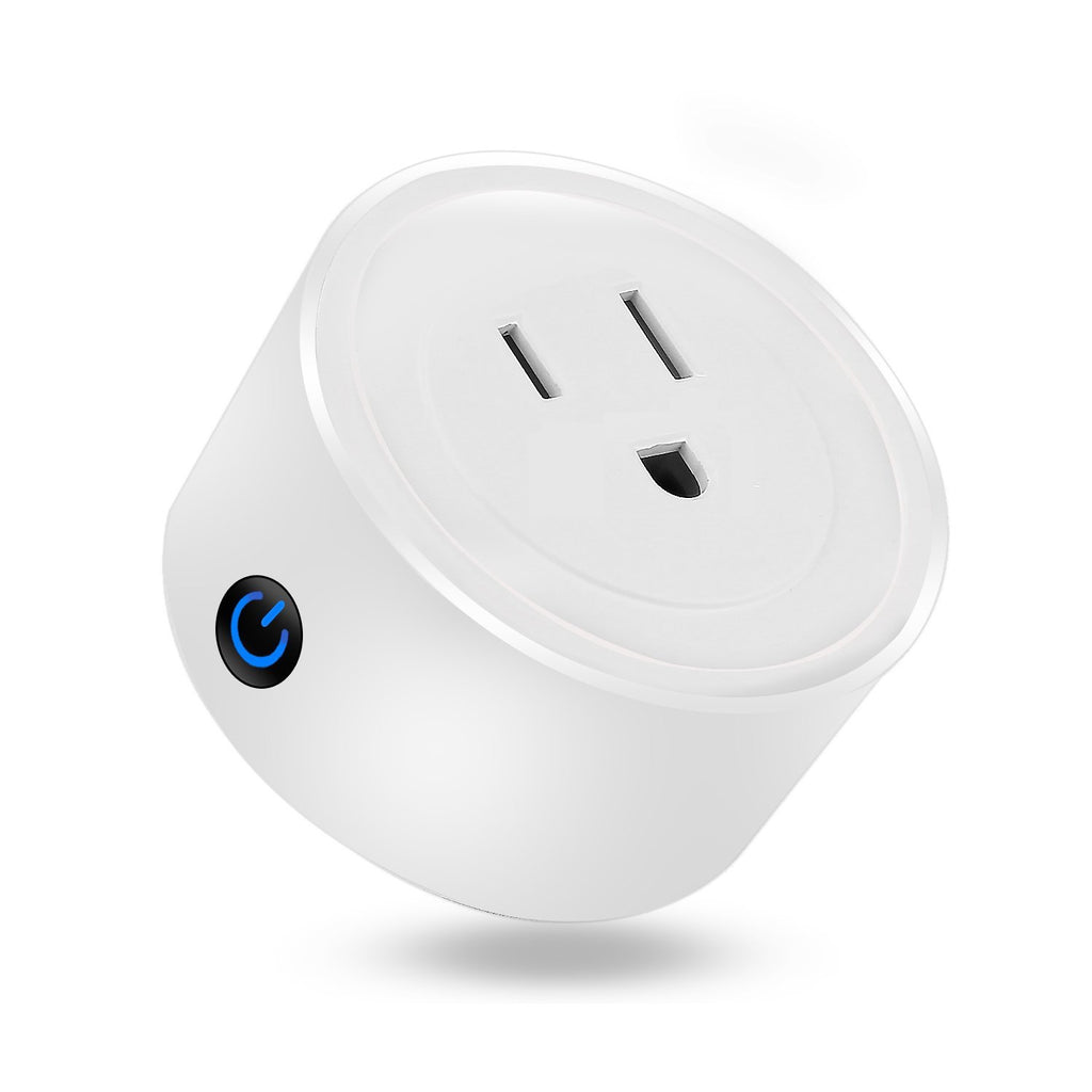 iTD Gear WiFi Smart Plug Mini Outlet works with Alexa & Google Home