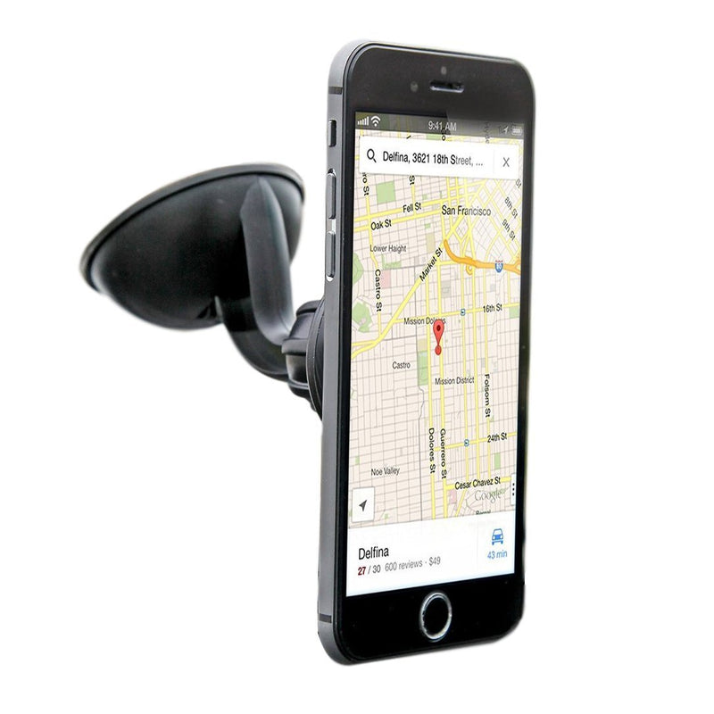 iTD Gear Magnetic Windshield Car Mount Holder for iPhone & Android