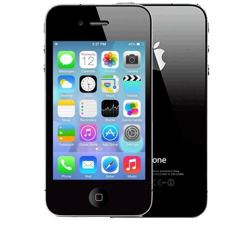 "Apple iPhone 4 8GB - 3.5"" Touchscreen Dual Camera Smartphone for Verizon in Black"