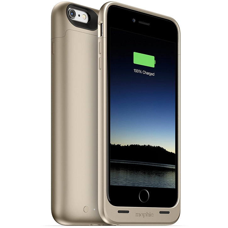 Mophie Slim Protective Mobile Battery Pack Case for iPhone 6 Plus / 6s Plus - Gold