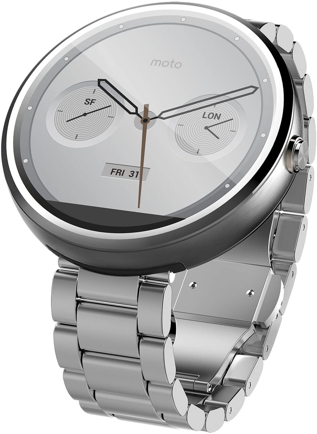 Motorola Moto 360 Smartwatch for Android - Stainless Steel