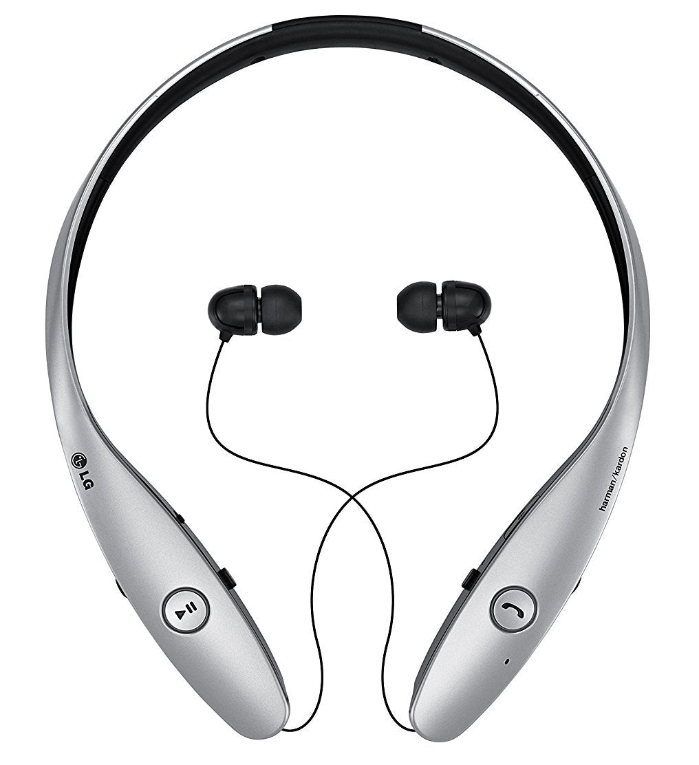 LG HBS-900 Tone+ Infinim Bluetooth Headset in Silver