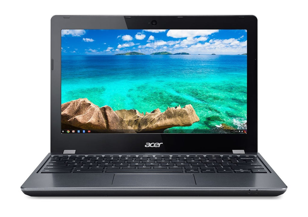 "Acer Chromebook 11.6""  Intel Celeron 3205U 1.50 GHz 2GB 16GB  Chrome OS in Black (ENGRAVED)"