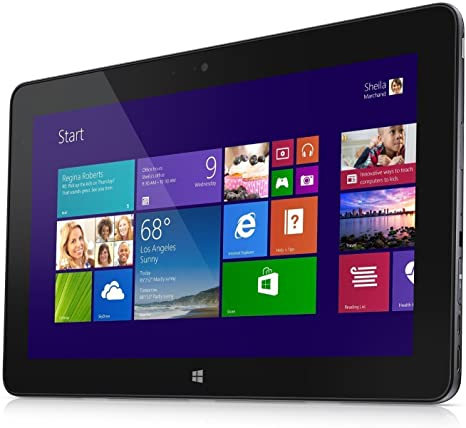"Dell Venue 11 Pro 7140 10.8"" Intel Core M-5Y10, 4GB RAM, 64GB SSD, Windows 8.1 Tablet - Black"