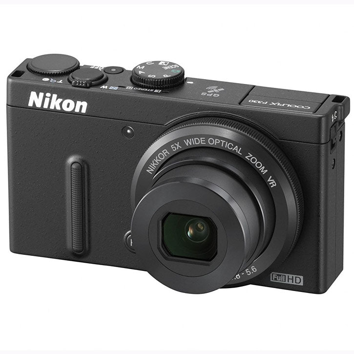 Nikon COOLPIX P330 12.2 MP Digital Camera with 5x Zoom
