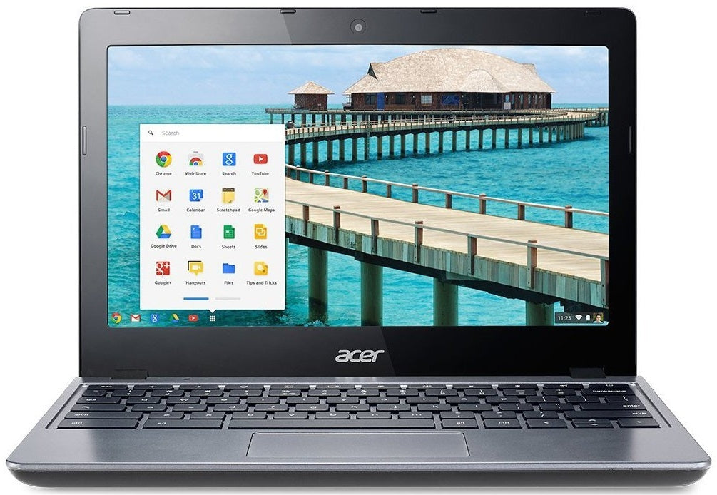 "Acer C720-2844 Dual-Core 1.4GHz 4GB 16GB SSD 11.6"" LED Chromebook"