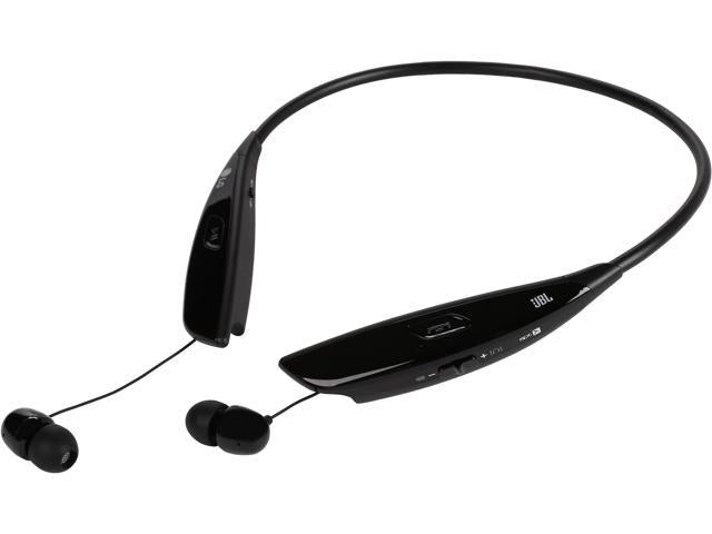 LG Tone Ultra HBS-810 Wireless Stereo Headset w/JBL Sound & Retractable Earbuds in Black