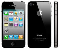"Apple iPhone 4S 16GB 3.5"" Touchscreen Quad-Band GSM Dual Camera Smartphone for AT&T in Black"