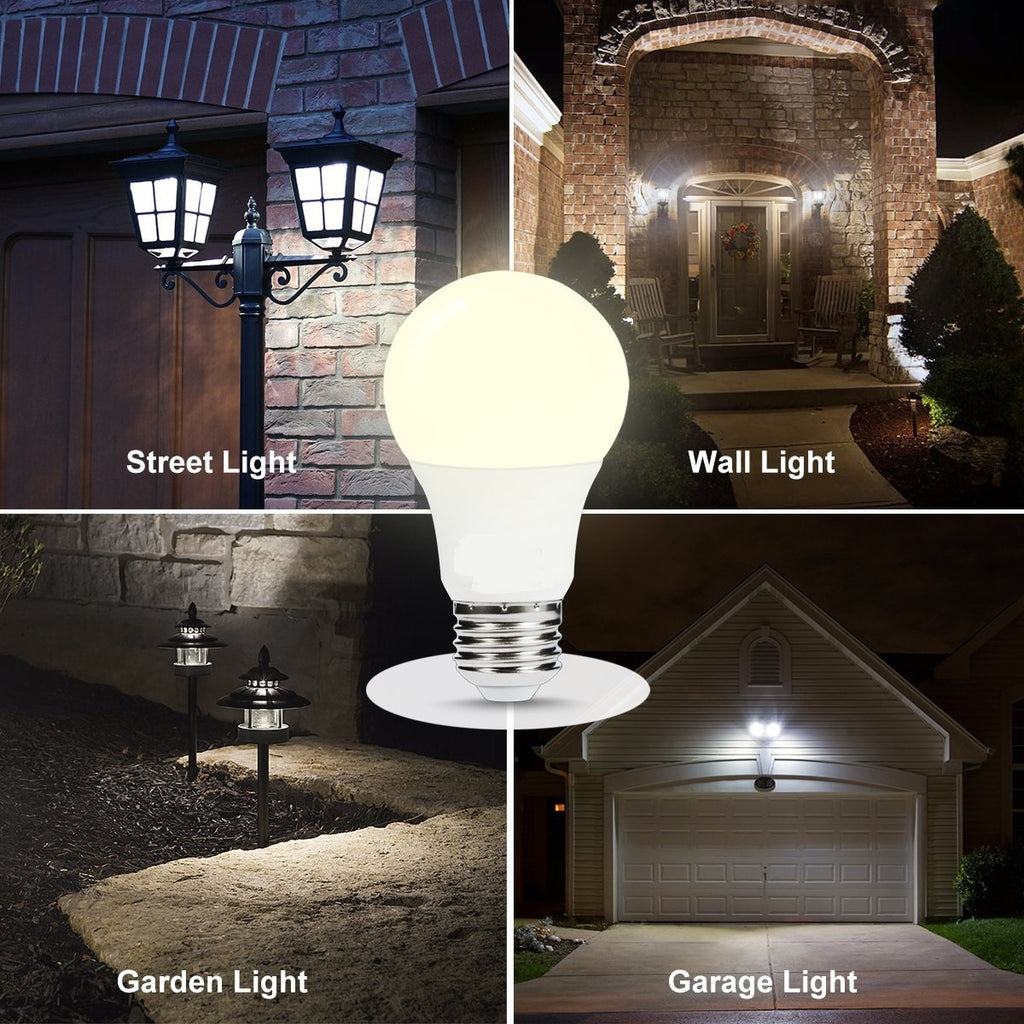 Smart LED Dusk to Dawn Sensor Auto On/Off Energy Saving Light Bulb