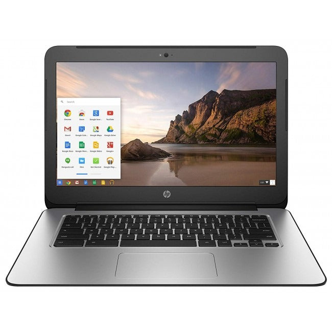 "HP 14 G3 14"" Chromebook 2.1GHz 4GB 16GB Chrome OS K4K11UA in Black"