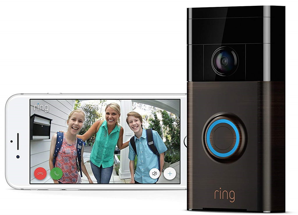 Ring WiFi-Enabled Video Doorbell in Venetian Bronze