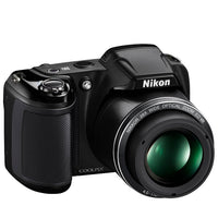 Nikon Coolpix L340 20.2 MP Digital Camera with 28x Optical Zoom